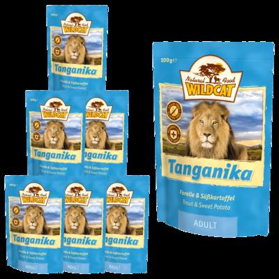 Wildcat Tanganika Nassfutter Pouches, 7 x 100 g