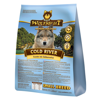 Wolfsblut Cold River Small Breed Hundefutter, 15 kg