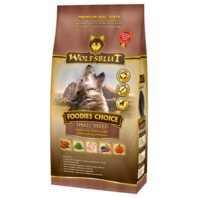 Wolfsblut Foodies Choice Small Breed, 15 kg
