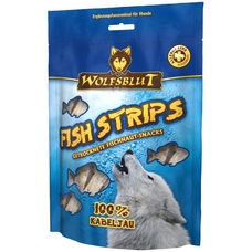 Wolfsblut Hundesnack Fish Strips Kabeljau Streifen