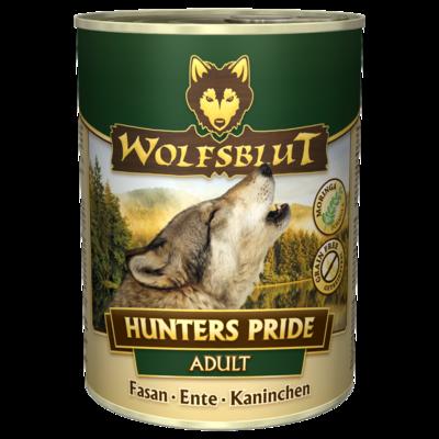 Wolfsblut Hunters Pride Adult Nassfutter für Hunde, 6x800g