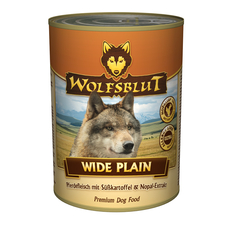 Wolfsblut Nassfutter Dose Wide Plain, 6 x 800g