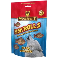 Wolfsblut Snack Fish Rolls Rotbarsch
