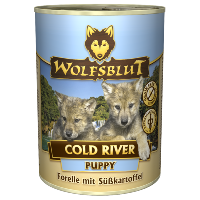 Wolfsblut Welpenfutter Dose Cold River PUPPY