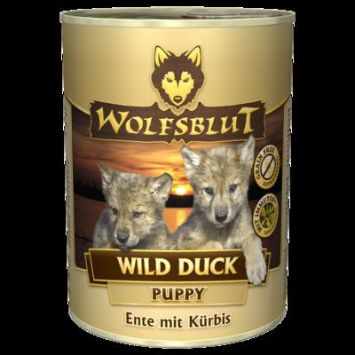 Wolfsblut Welpenfutter Dose Wild Duck PUPPY, 12 x 395g