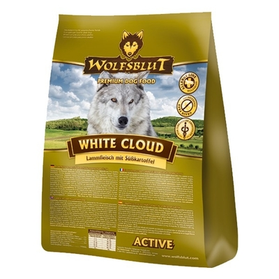 Wolfsblut White Cloud Active Hundefutter, 15 kg