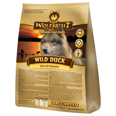 Wolfsblut Wild Duck Large Breed, 15 kg