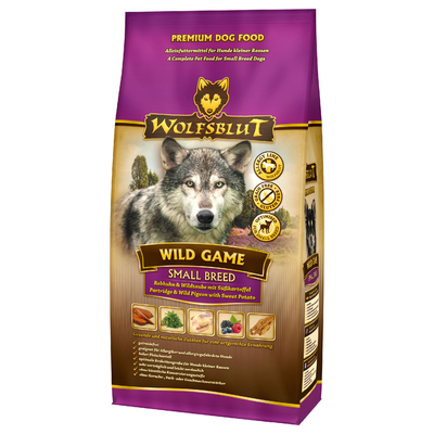 Wolfsblut Wild Game Small Breed Hundefutter, 15 kg