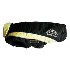Wolters Dogzwear Skijacke Winterjacke für Hunde, 40 cm schwarz/lime