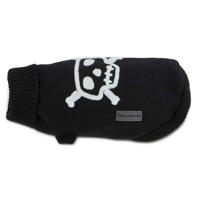 Wolters Hunde Strickpullover Totenkopf