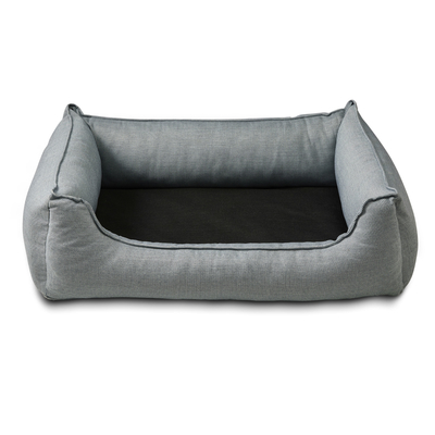 Wolters Hundebett Noble Stripes, L: denim/granit 105 x 80cm