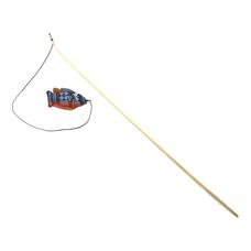 WOLTERS Katzenspass Spielangel , Fisch, mit Katzenminze gefüllt 120cm
