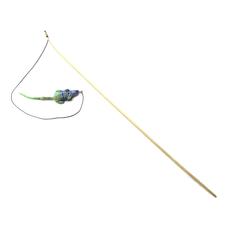 WOLTERS Katzenspass Spielangel , Maus, mit Katzenminze gefüllt 120cm