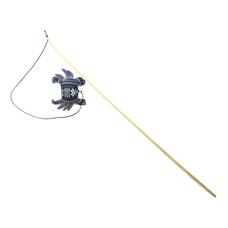 WOLTERS Katzenspass Spielangel , Krabbe, mit Katzenminze gefüllt 120cm