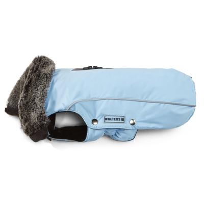 Wolters Winterjacke für Hunde Amundsen, Rücken 46cm, Brust 57-69 cm, sky blue