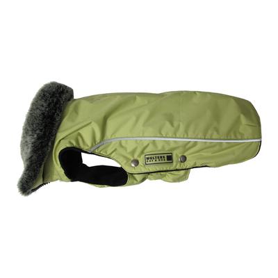 Wolters Winterjacke für Hunde Amundsen, Rücken 44cm, Brust 55-66 cm, limone