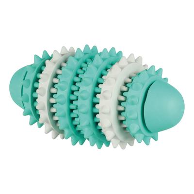 Trixie Zahnpflege Mintfresh Rugbyball für Hunde