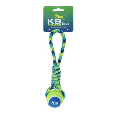 Zeus K9 Zugseil mit Tennisball