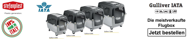 Gulliver IATA Transportbox Flugbox für Hunde