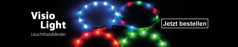 Visio Light Leuchthalsbänder