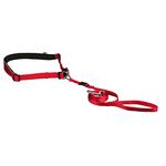 rot - Gurt: 60–130 cm/25 mm, Leine: 1,20 cm/15 mm - für kleine und mittelgroße Hunde, Gurt: 60–130 cm/25 mm, Leine: 1,20 cm/15 mm, ohne Expander