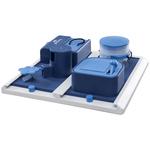 blau - 31 × 10 × 31 cm