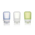 3er Pack, 53 ml transp./grün/blau