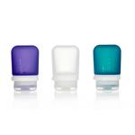 3er Pack, 53 ml transp./violett/türkis