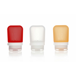 3er Pack, 53 ml transp./rot/orange