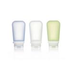 3er Pack, 100 ml transp./grün/blau