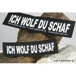 ICH WOLF DU SCHAF