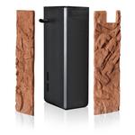 braun - Stone Clay, 55,5 x 18,6 x 1 cm