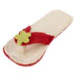 rot - Flip Flop 14 cm - rot/weiß