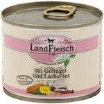 Geflügel & Lachsfilet 195