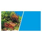 Pflanzen und Steine oder Blau - 45 x 75 cm
