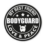 für L-XXL Geschirre - Bodyguard (rund)