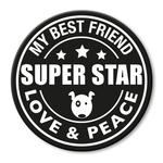 für L-XXL Geschirre - Super Star (rund)