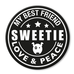 für L-XXL Geschirre - Sweetie (rund)