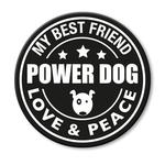 für L-XXL Geschirre - Power Dog (rund)