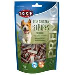Hühnchen & Lachs, Stripes, 75 g