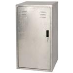 silber - Metall - 60x60x106cm - 60x60x106 cm