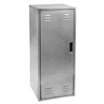 silber - Metall - 60x60x150cm - 60x60x150 cm