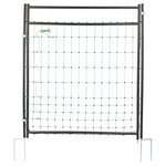 schwarz - Tor für Netze 90cm