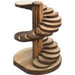 braun - Holz - 10 × 12 × 9 cm - 10 × 12 × 9 cm