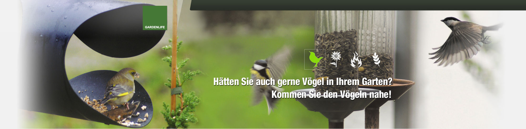 Garden Life Bird Online Shop, Bild 1