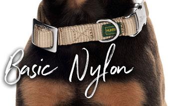 Hunter Basic Nylon Halsbänder, Leinen und Geschirre