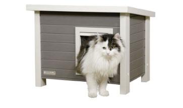Katzenhäuser für Draußen