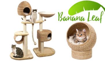 Banana Leaf Kratzbäume & Schlafplätze