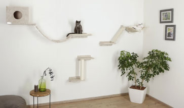 Wand-Möbel für Katzen