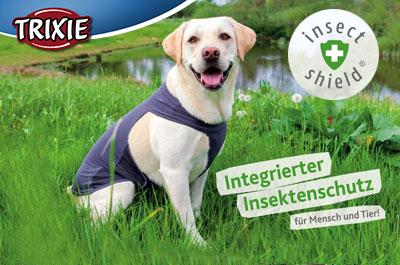 TRIXIE Insect Shield Hundezubehör mit Insektenschutz